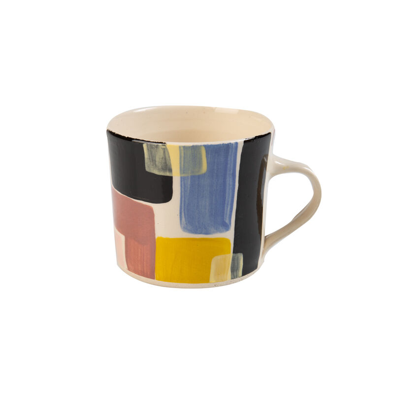 Wonki Ware Ochre Sunbaked Mug -  assorted