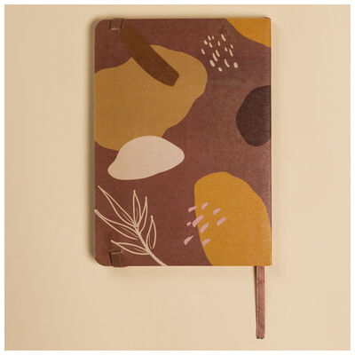 Terracotta Abstract Notebook