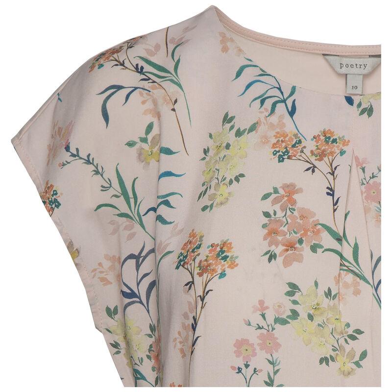 Zeta Floral T-shirt -  pink
