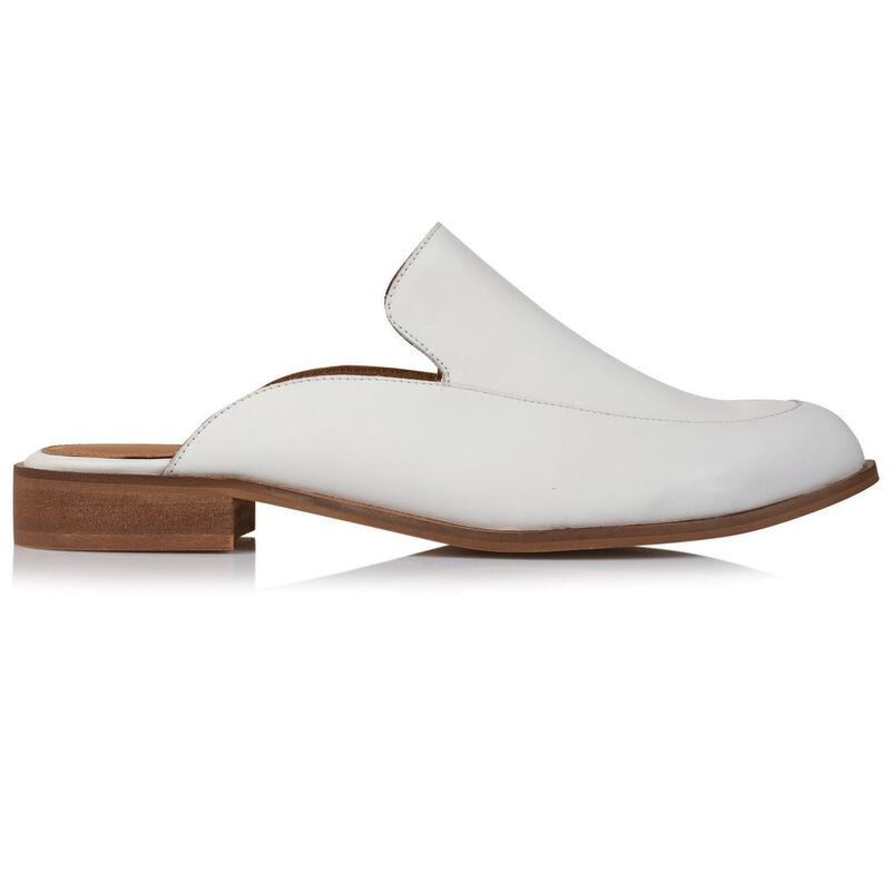 Rare Earth Daniella Mule -  white