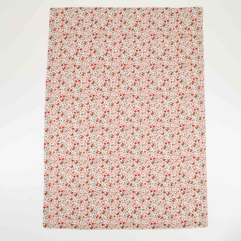 2-Pack Ditsy Floral & Waffle Tea Towels -  assorted