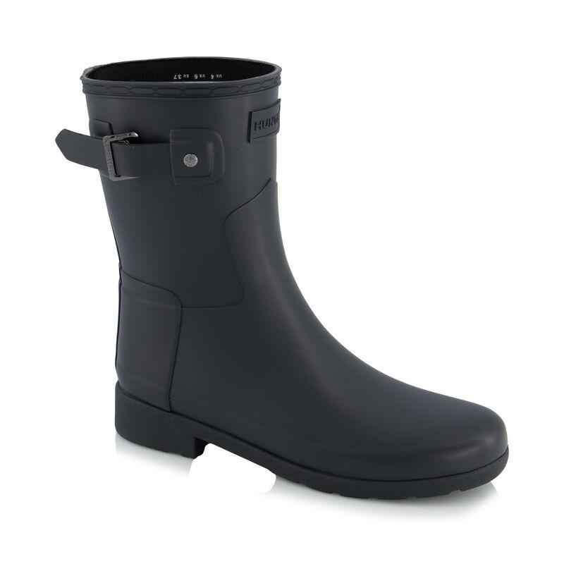 Hunter Refined Short Boot  -  black
