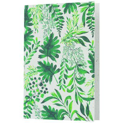 Green Leaves Card
