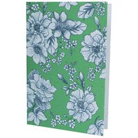 Growing Paper Green Floral Card -  assorted