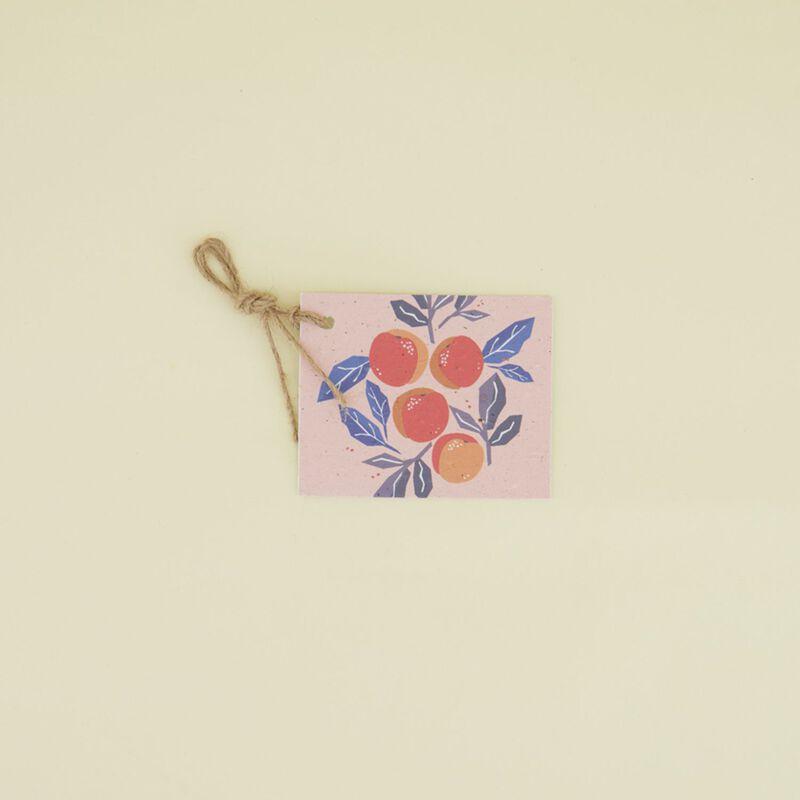 Yuzu Growing Paper Tag -  c99