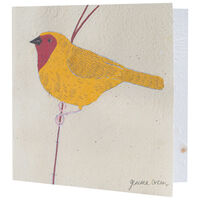 Gemma Orkin Yellow Bird Card -  assorted