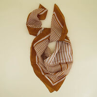 Autry Abstract Silk Scarf -  c23