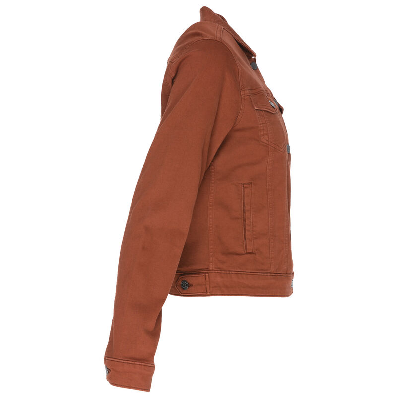 Shazzy Denim Jacket -  rust