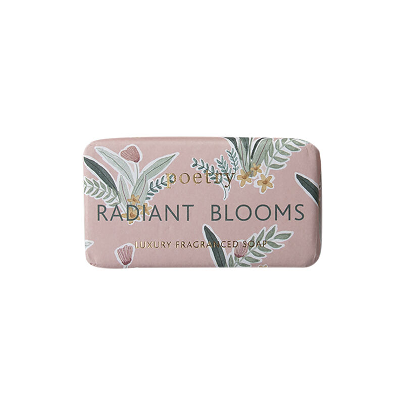 Radiant Blooms Soap Bar -  assorted