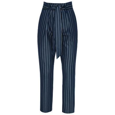 Poetry Aggie Poplin Stripe Pant