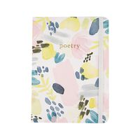 Watercolour Florals Notebook -  assorted