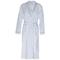 Lea Striped Gown -  blue-white