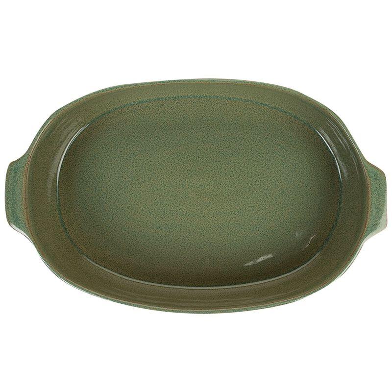 Oval Baker Olive S -  gold-burgundy