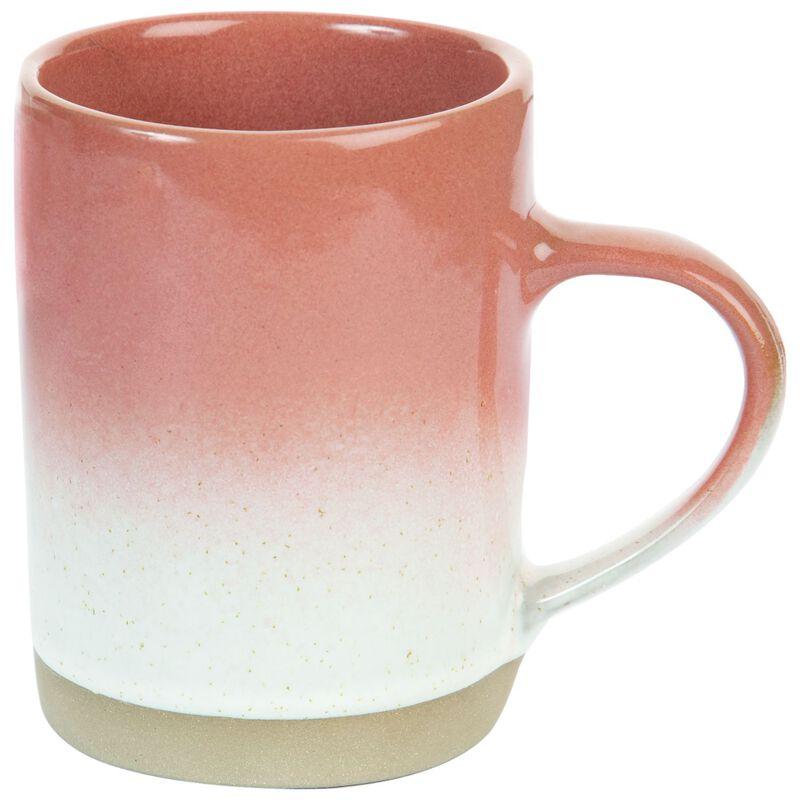 Stoneware Mug -  cream-black
