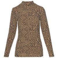 Cheri All Over Animal T-Shirt -  stone