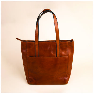 Noemi Leather Shopper