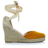 Rare Earth Alejandra Wedge -  ochre-tan