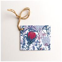 Growing Paper Protea Tag -  assorted