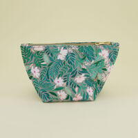 Esme Cosmetic Bag -  green-milk