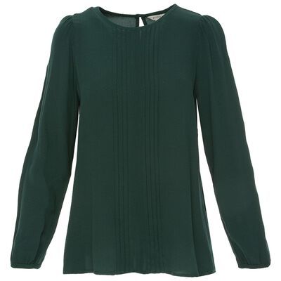 Whitney Pleat Front Blouse
