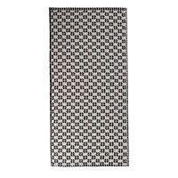 Reversible Rug -  grey-white