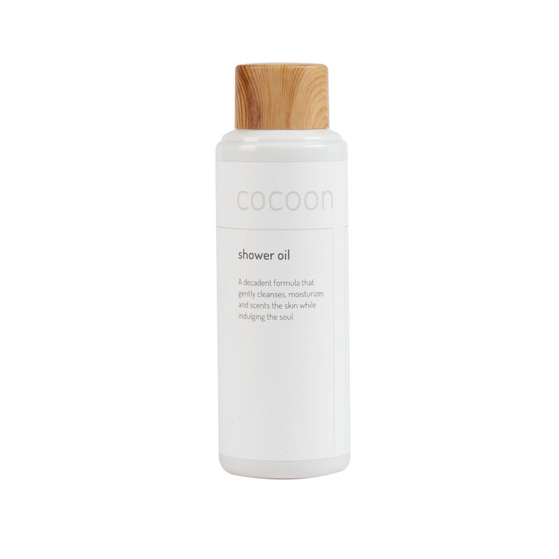 Cocoon Shower Oil -  white-brown