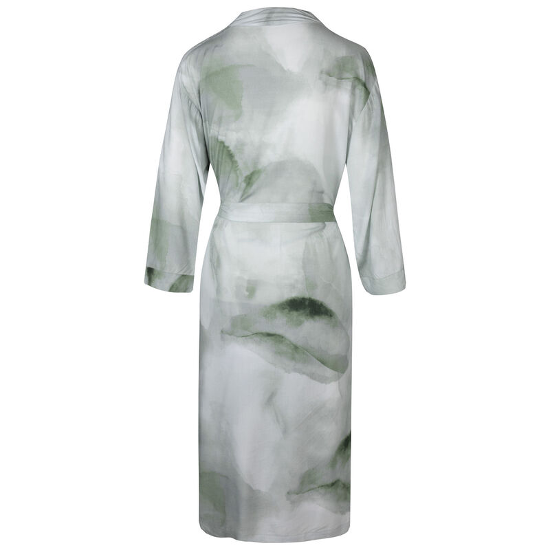 Jamie Greens Abstract Gown -  green