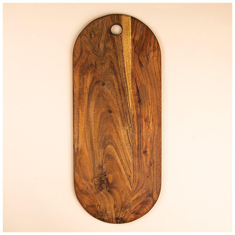 Large Wood Platter -  brown