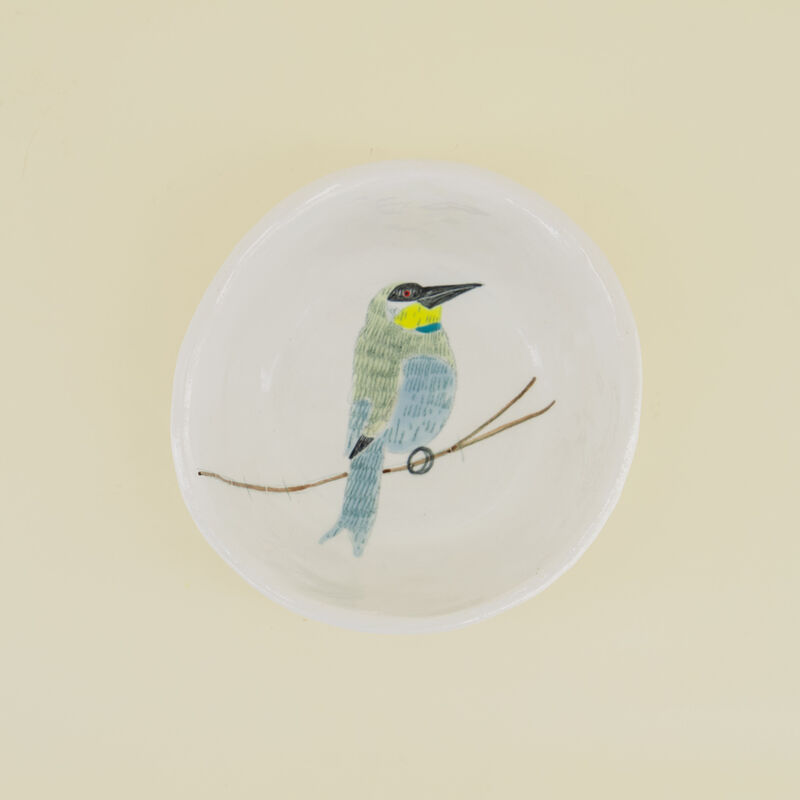 Gemma Orkin Birds Snack Bowl  -  c09