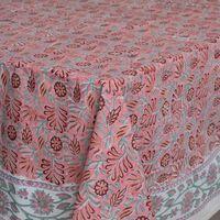 Morelia Tablecloth -  pink-assorted