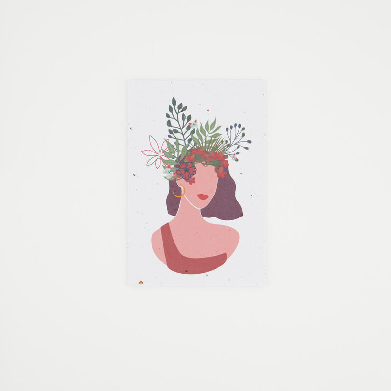 Growing Paper Independent Card -  c99