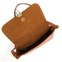 Hope Cross Body Leather Bag -  tan