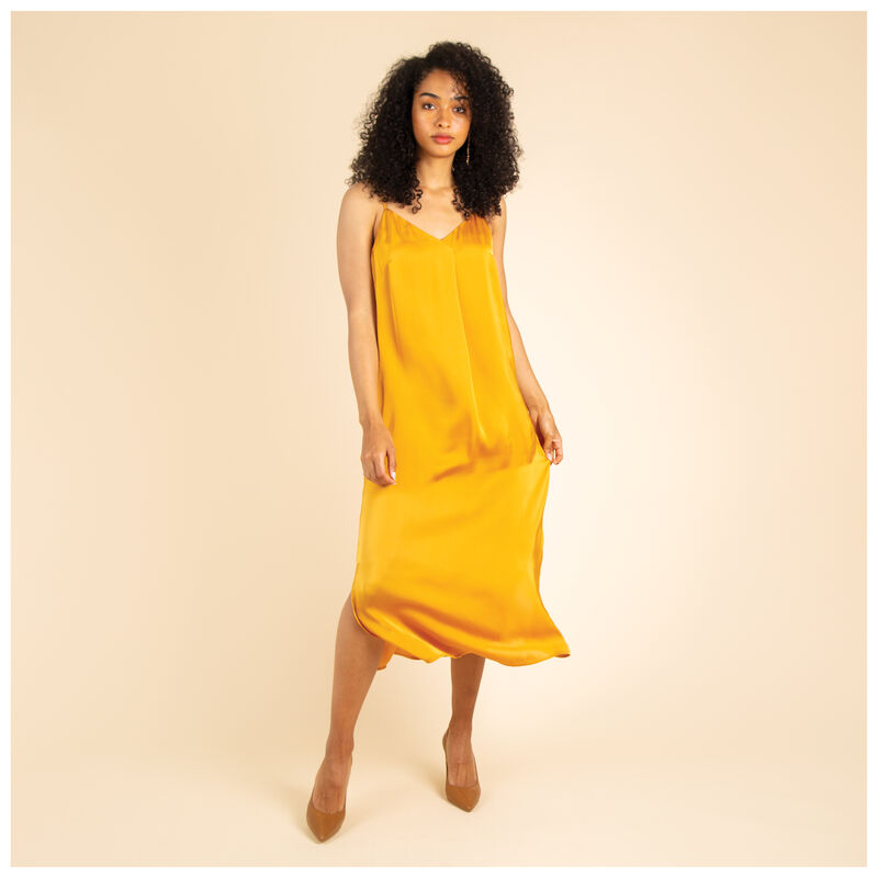 Tanner Cami Dress -  yellow