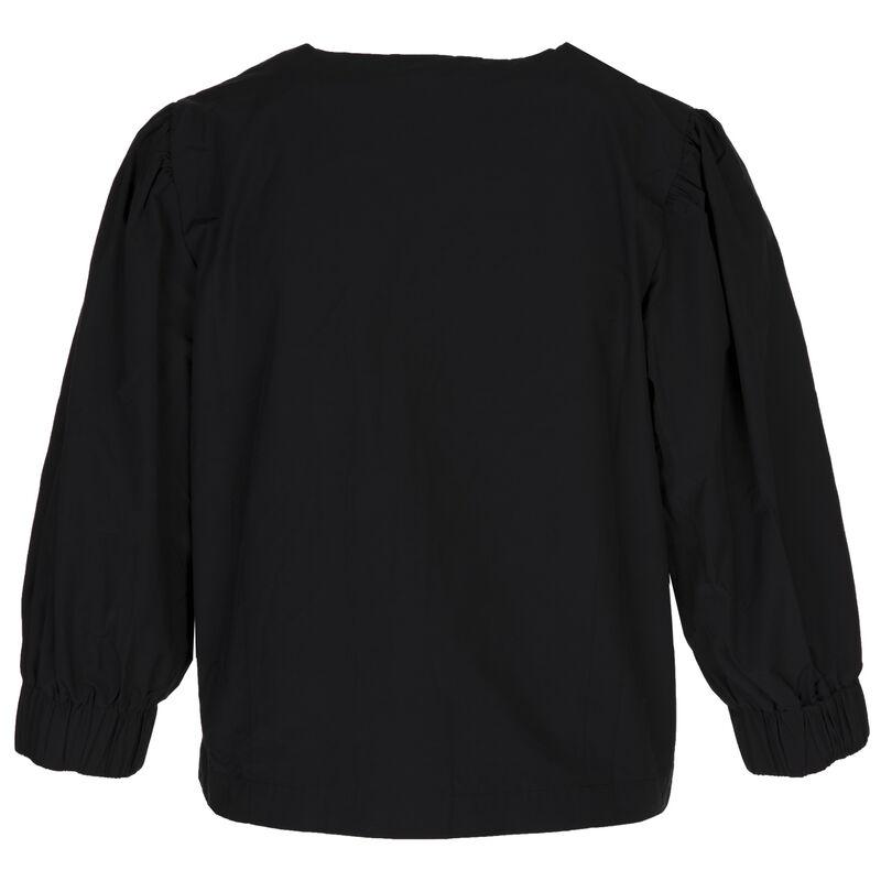Ayrah Cropped Jacket -  black
