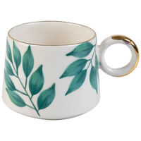 Kapula Terrace Greens Mug -  green-gold