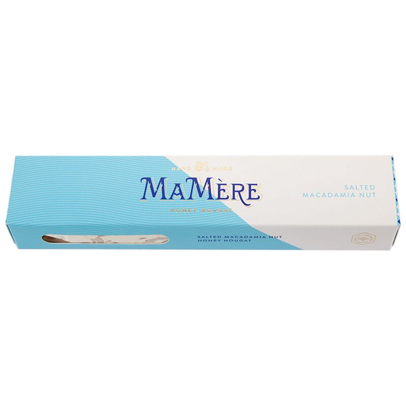 MaMère Salted Macadamia Nougat Bar -  c55