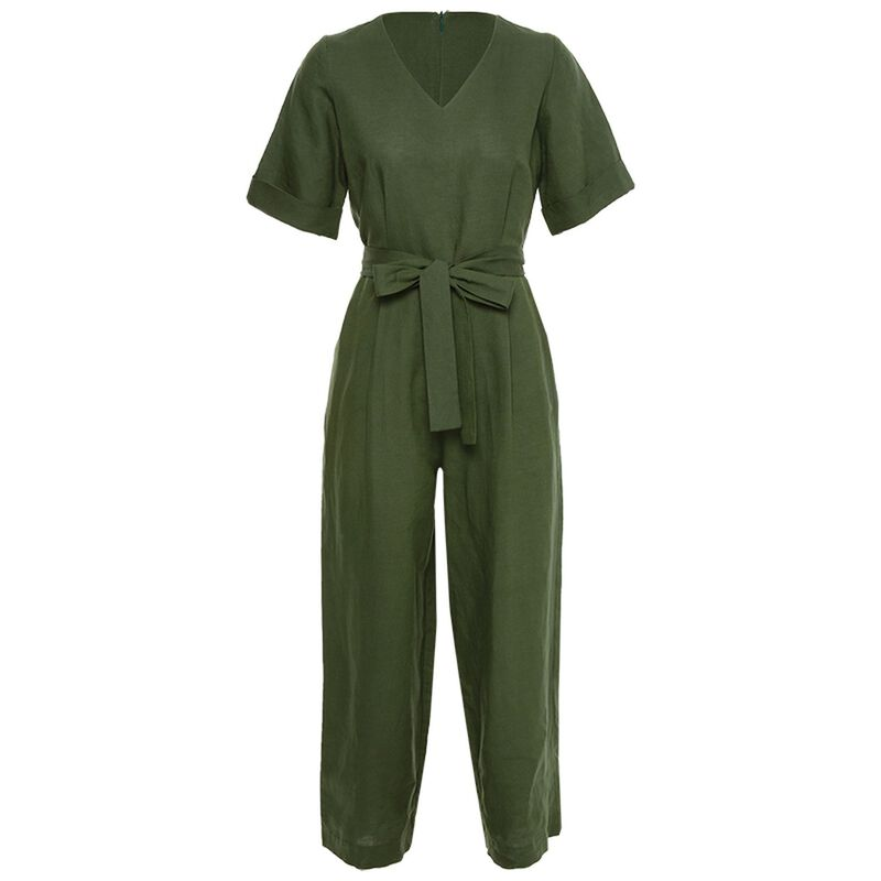 Thelma Jumpsuit -  green