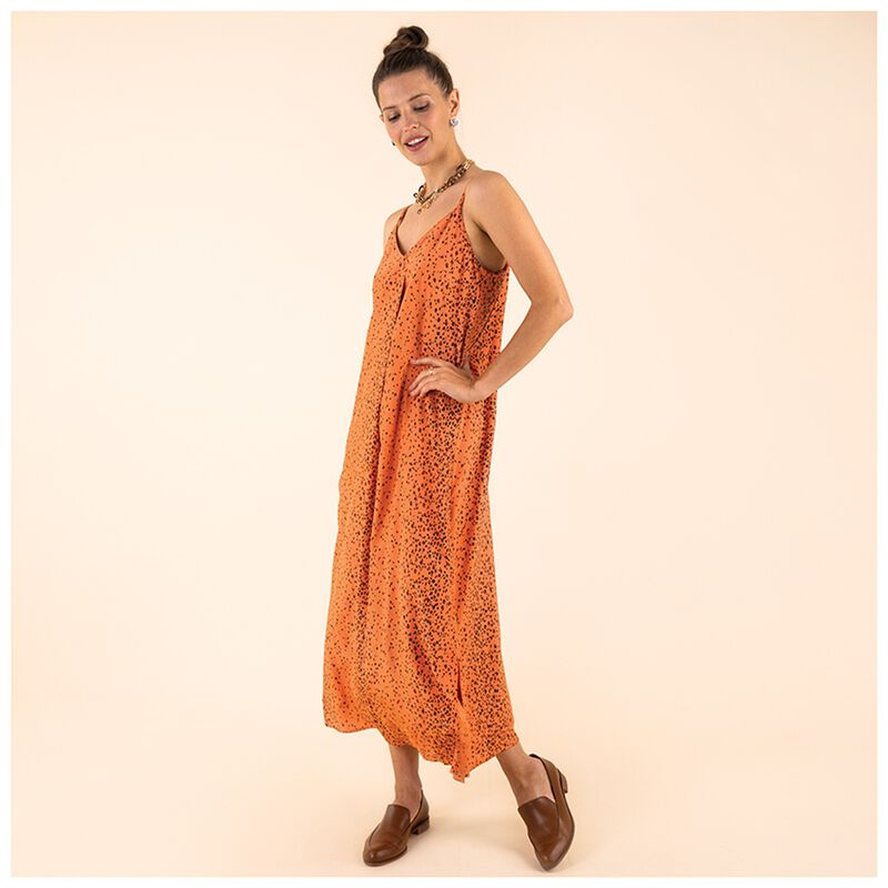 Nami Slip Dress -  peach
