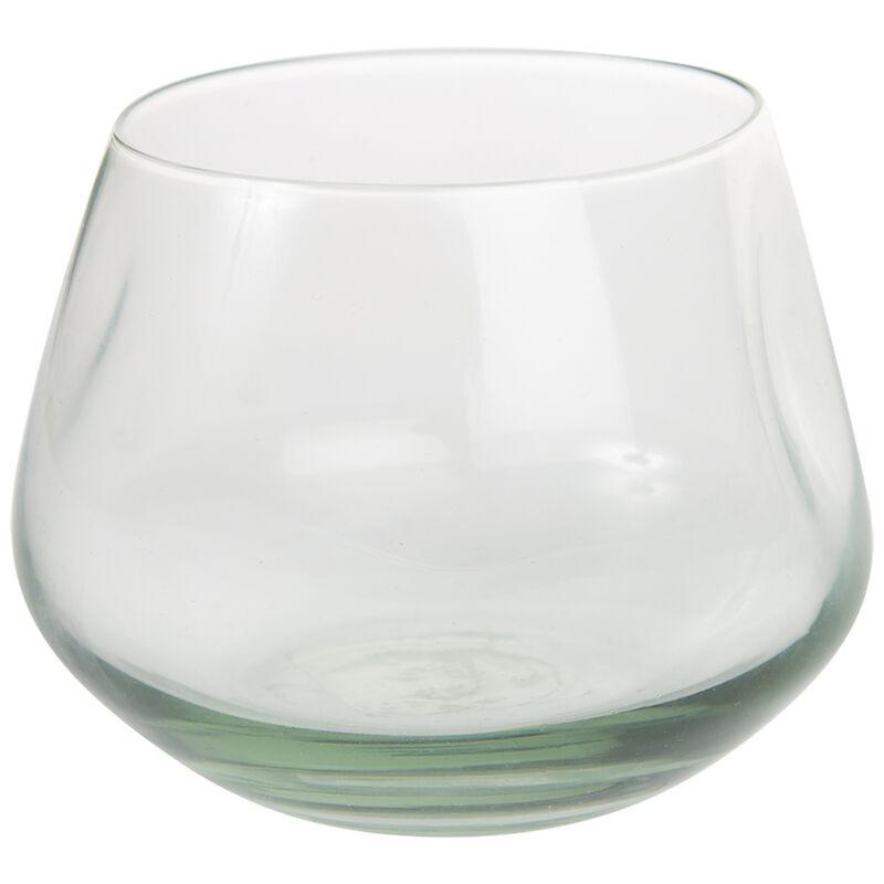 Ngwenya Squashed Short Tumbler Glass -  nocolour