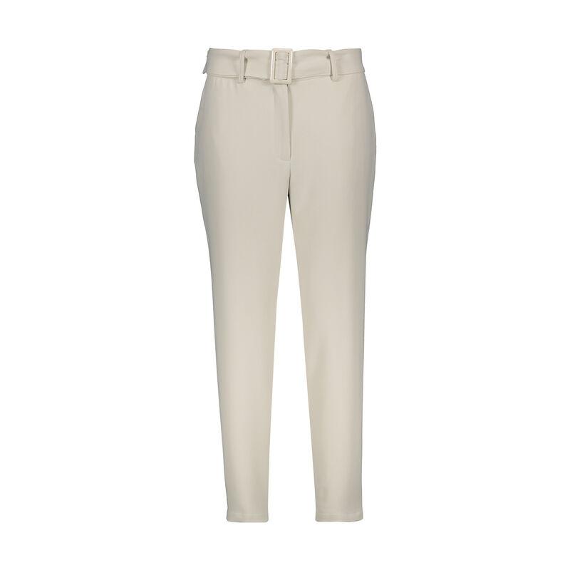 Damia Pleated Crepe Pant