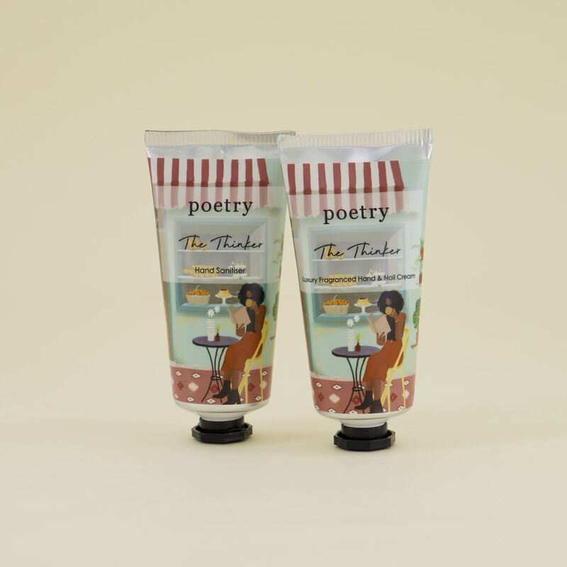 The Thinker Hand/Nail Cream & Sanitizer 2-Pack -  assorted