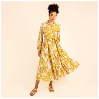 Dafnee Tiered Maxi Dress