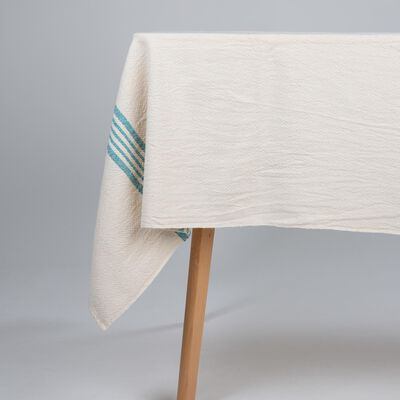 Barrydale French Country Teal Tablecloth