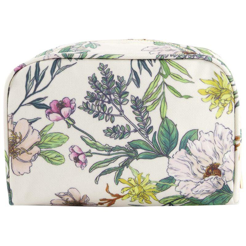 Dahlia Cosmetic Bag -  green-milk