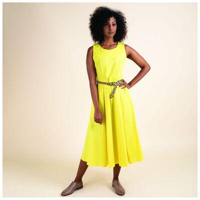 Leatitia Poplin Fit & Flare Dress
