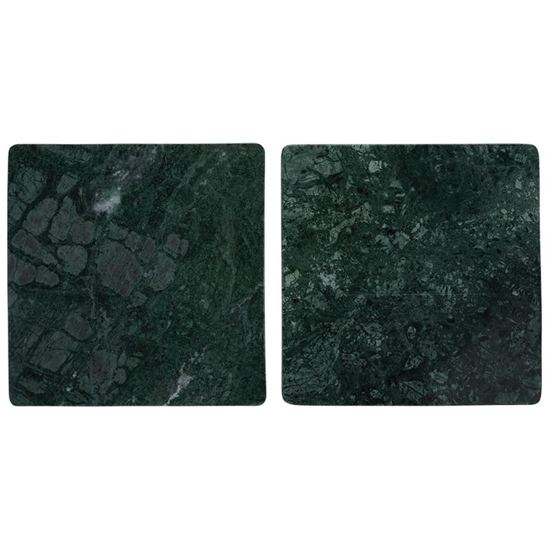 2-Pack Green Marble Board Set -  green