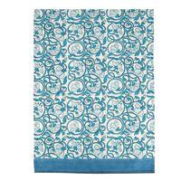 Blue Floral Tea Towel -  dc5409