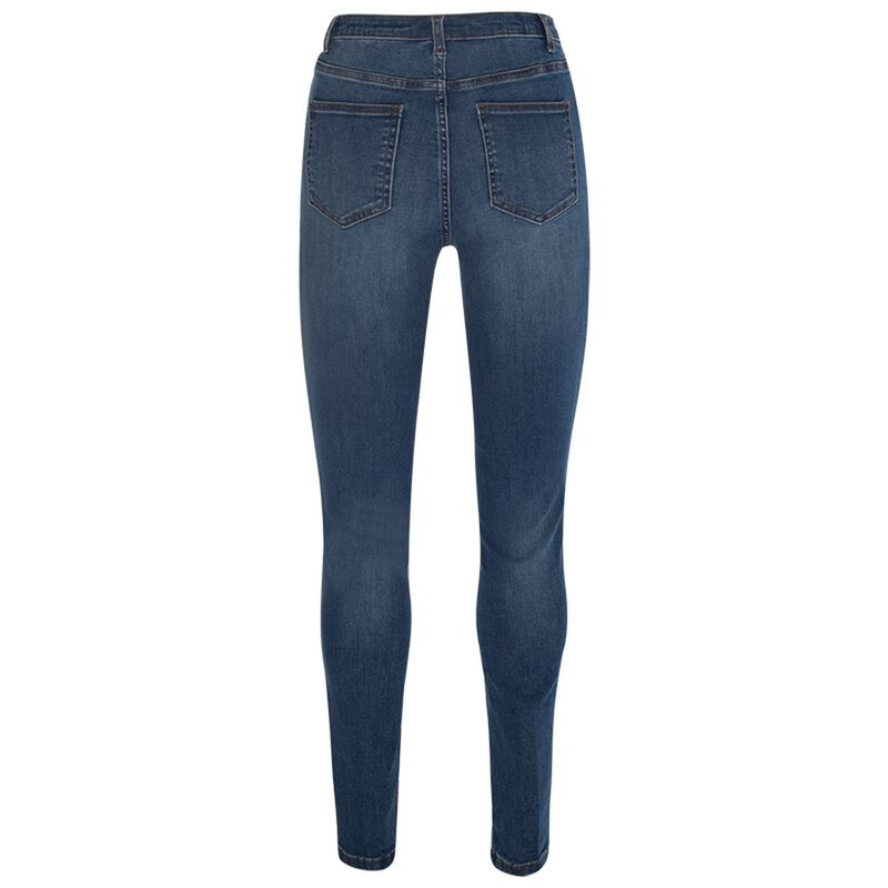 Presley High Rise Denim -  midblue-midblue