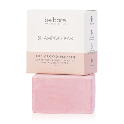 Be Bare: The Crowd-Pleaser Shampoo Bar