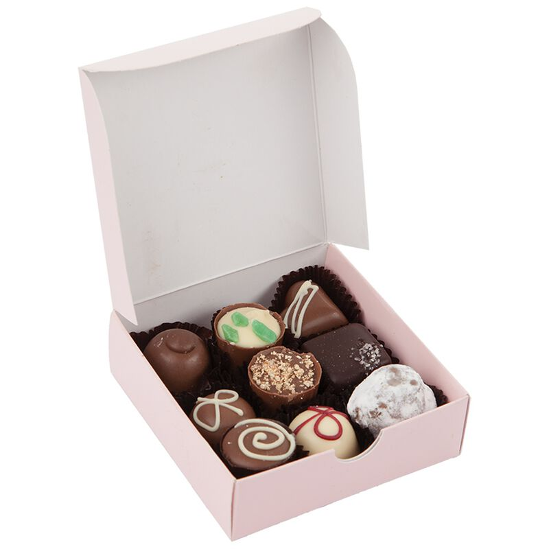 9-Piece Assorted Truffle Box -  nocolour